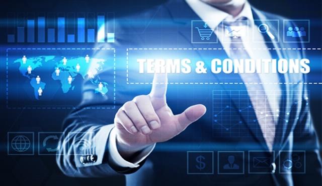 Comment rédiger les conditions générales de vente ? - Heyme