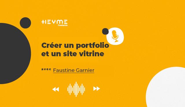 « Créer un portfolio et un site vitrine » avec Faustine Garnier - Heyme