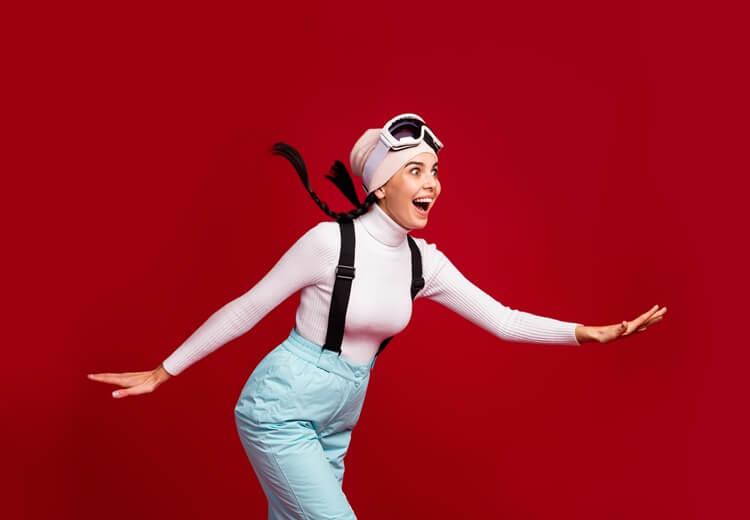 Comment éviter les pires chutes au ski ? - Heyme